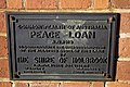 Commonwealth of Australia Peace Loan plaque located on the Holbrook Shire Hall.jpg