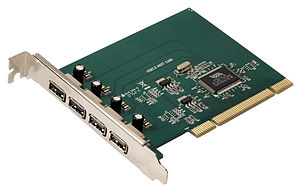 USB - A USB 2.0 PCI expansion card