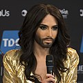 Conchita Wurst, ESC2014 Meet & Greet 12 (crop).jpg