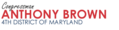 Congressman Anthony G. Brown logo1.png