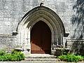 Conne-de-Labarde église portail.JPG
