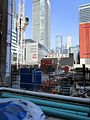 Construction around the old Westinghouse building, at Soho and King, 2017 05 18 -ap (34748504655).jpg