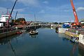Construction of additional Lock Gates at Milford Haven DSC 1778 -2.jpg