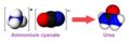 Conversion of Ammonium Cyanate into Urea.png