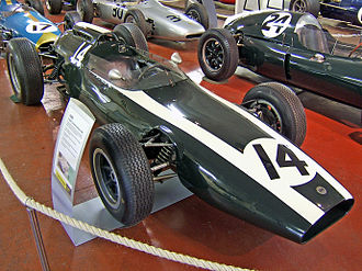 Owen Maddock - A Cooper T60, the last Maddock-designed car to win a World Championship Grand Prix