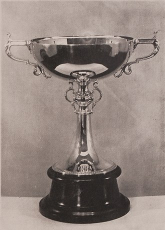 Copa Escobar-Gerona - The trophy awarded to champions
