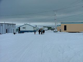 Coral Harbour Hamlet in Nunavut, Canada