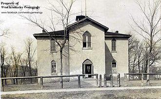 Cordova, Illinois - Old Cordova School