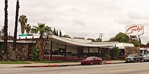 Armet Davis Newlove Architects - Corky's Restaurant, Sherman Oaks, 2014.