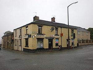 Blackamoor, Lancashire - Image: Corner shop, Blackamoor geograph.org.uk 1441487