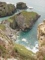 Cornish coast, Port Isaac Bay - geograph.org.uk - 1578219.jpg