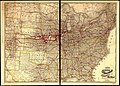 Correct map of the Chicago, Burlington, and Quincy Rail Road and its principal connecting lines. LOC 98688625.jpg
