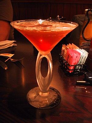 Cosmopolitan (cocktail) - A cosmopolitan
