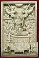 Costantinopoli, formella con dormitio virginis, avorio, 1110 ca.jpg