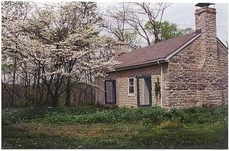 Blackacre Nature Preserve and Historic Homestead - 18th Century Historic Stone Cottage