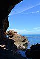 Cova Tallada, vista cap a l'exterior.JPG
