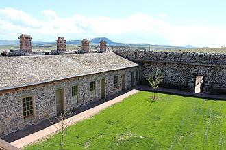 Cove Fort - Interior
