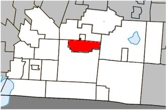 Cowansville - Image: Cowansville Quebec location diagram