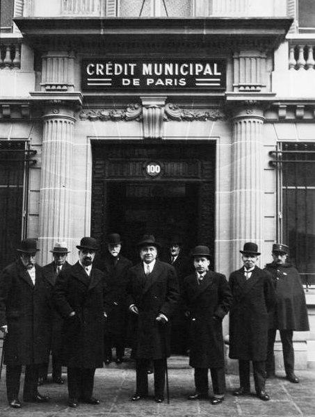 Fichier:Crédit municipal de Paris, Rue Joubert, 1933.jpg