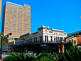Beaumont Commercial District historic district in Beaumont, Texas