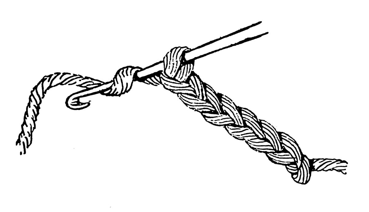 Crochet Hook Metal Painted