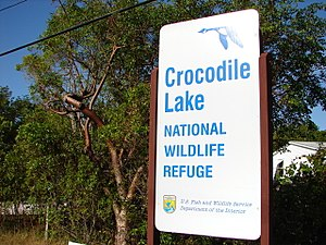 Crocodile Lake National Wildlife Refuge - Image: Crocodile Lake Refuge