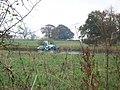 Crop spraying near Evenlode - geograph.org.uk - 1566444.jpg