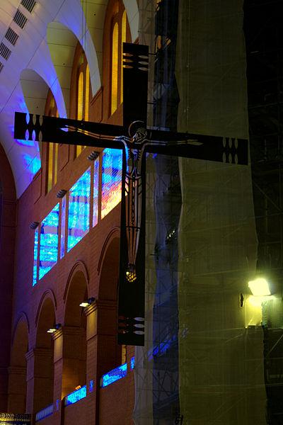 File:Cross - Main altar - Basilica of Aparecida - Aparecida 2014.jpg