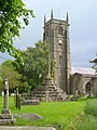 Cross and church, Chew Magna - geograph.org.uk - 1608123.jpg