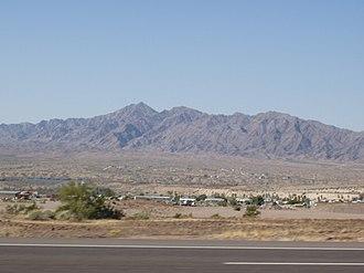 Mohave Mountains - Image: Crossman Peak Arizona