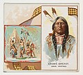 Crow's Breast, Gros Ventres, from the American Indian Chiefs series (N36) for Allen & Ginter Cigarettes MET DP838939.jpg