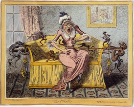 The cholic (1819) George Cruikshank.