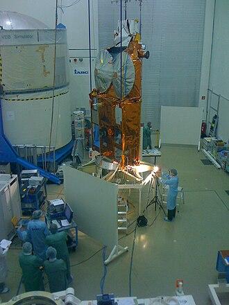 CryoSat-2 - Image: Cryosat 2 test iabg ottobrunn