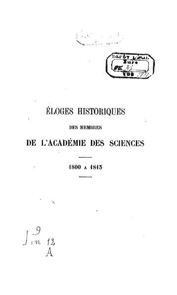 File:Cuvier - Recueil des éloges historiques vol 1.djvu
