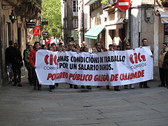 Día do traballo. Santiago de Compostela 2009 49.jpg
