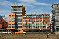 Düsseldorf - Julo-Levin-Ufer - Neuwerk Speditionstraße15+Roggendorf-Haus Speditionstraße15a (Am Handelshafen) 01 ies.jpg