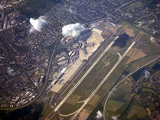 International Airport in Germany