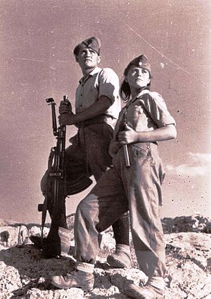 Democratic Army of Greece - Fighters of the Democratic Army of Greece