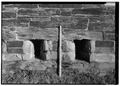 DETAIL OF GUN PORTS, WITH SCALE - Fort Adams, Newport Neck, Newport, Newport County, RI HABS RI,3-NEWP,54-51.tif