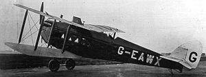 De Havilland DH.18 - DH.18B