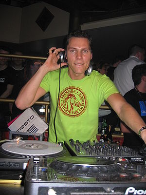 Tiësto discography - Tiësto performing in Winterworld at Palazzo in Bingen, Germany in May 2005.