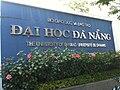 Dai Hoc Da Nang Sign.JPG