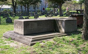 Francis Dana - Dana family plot in Old Burying Ground, Cambridge, Ma.