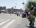 Danzantes en El Zócalo, Ciudad de México - Verde.jpg