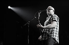 Dave Catching playing with the Eagles of Death Metal at the Commodore Ballroom July 20th 2009.jpg