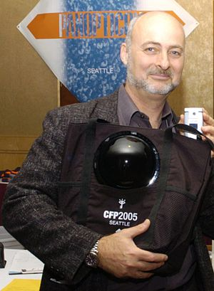 David Brin - Brin at an Association of Computing Machinery conference in 2005