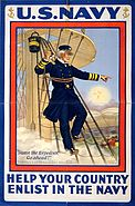 David Farragut WWI poster