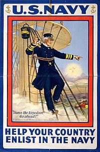 David Farragut WWI poster