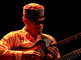 David Fiuczynski American contemporary jazz guitarist