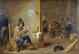 Raucher im Wirtshaus (1659) (Quelle: Wikimedia)